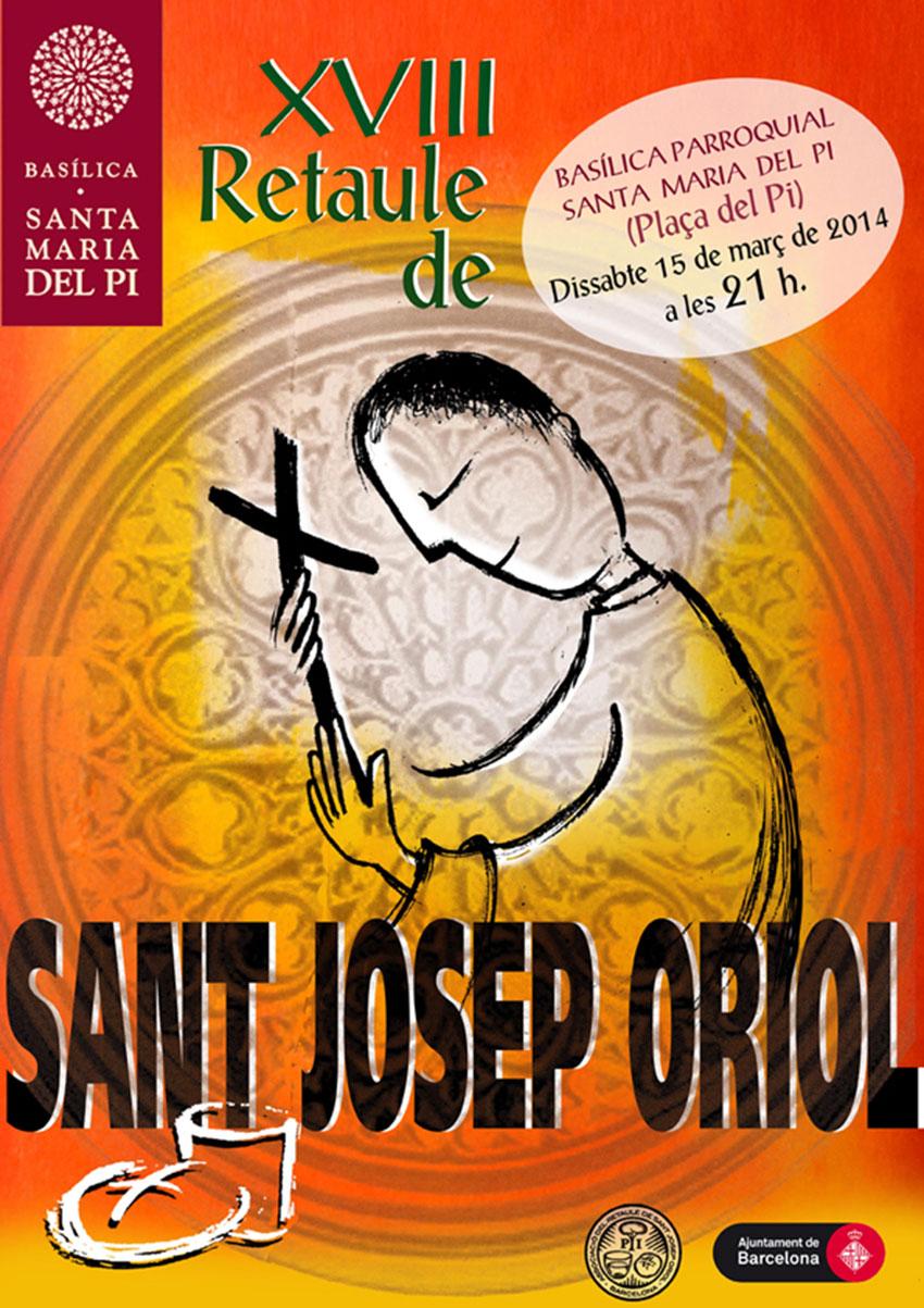 cartell-sant josep oriol-2014_BR